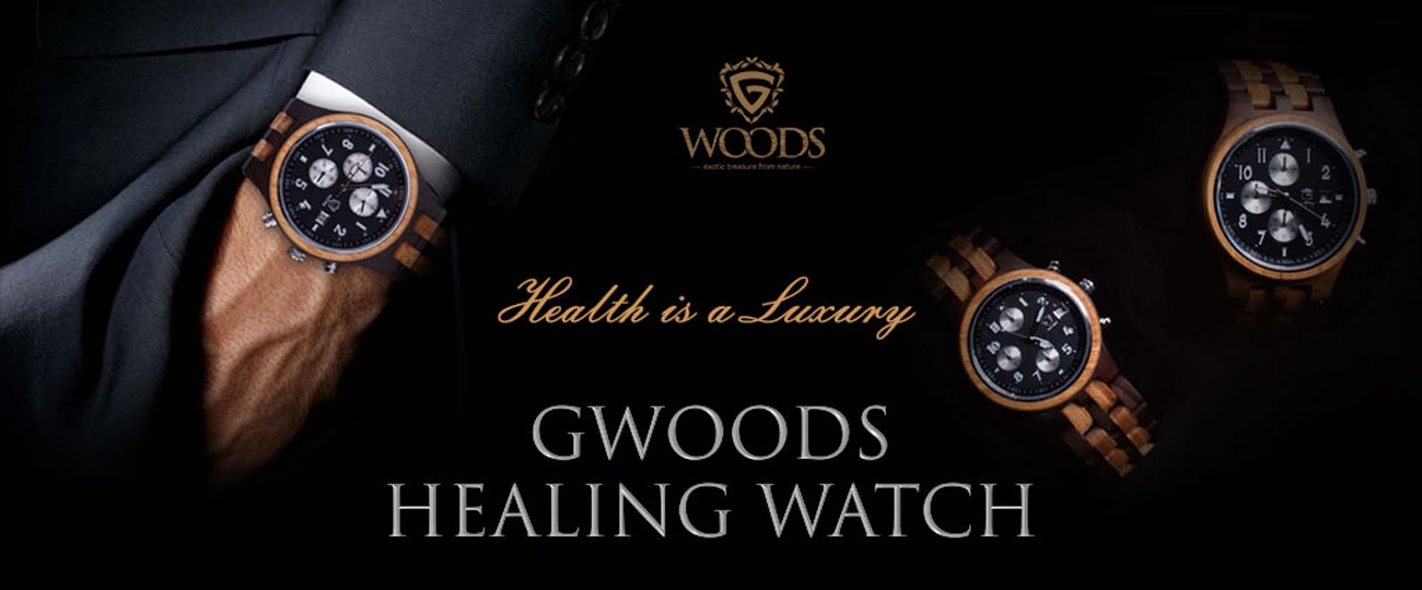 Gwoods Healing Watch Chrono Jason