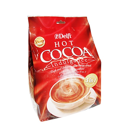 DELFI HOT COCOA BAG 20X25 GR