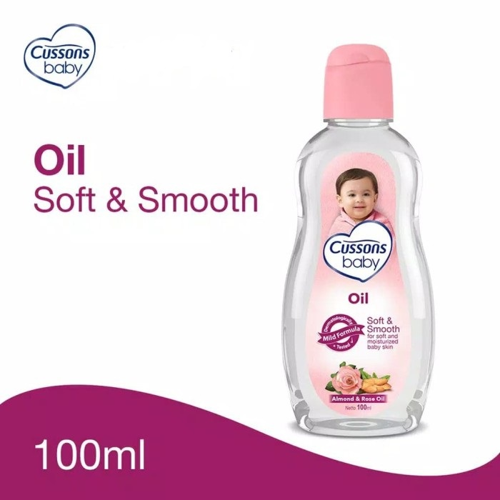 CUSSON BABY OIL SOFT&SMOOTH 100ML