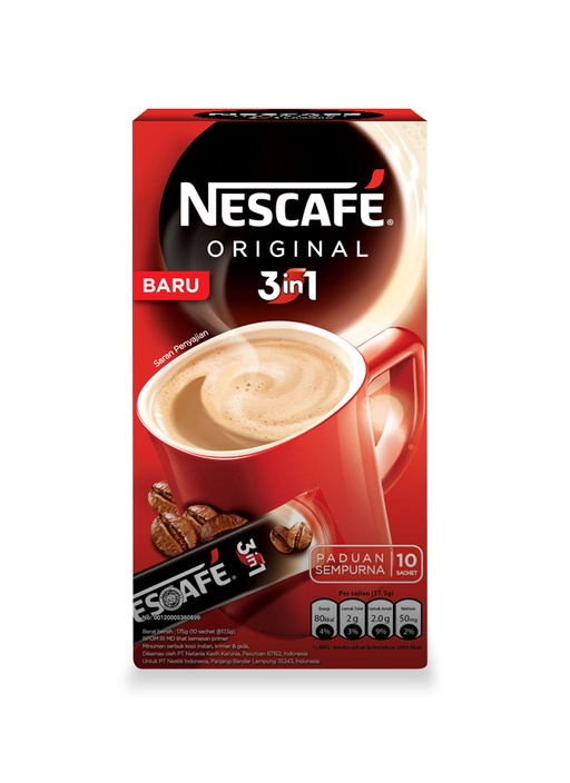 NESCAFE 3IN1 ORIGINAL 10\'SX17.5 GR