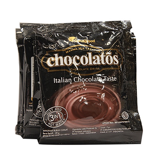 CHOCOLATOS DRINK CHOCOLATE 10X28G