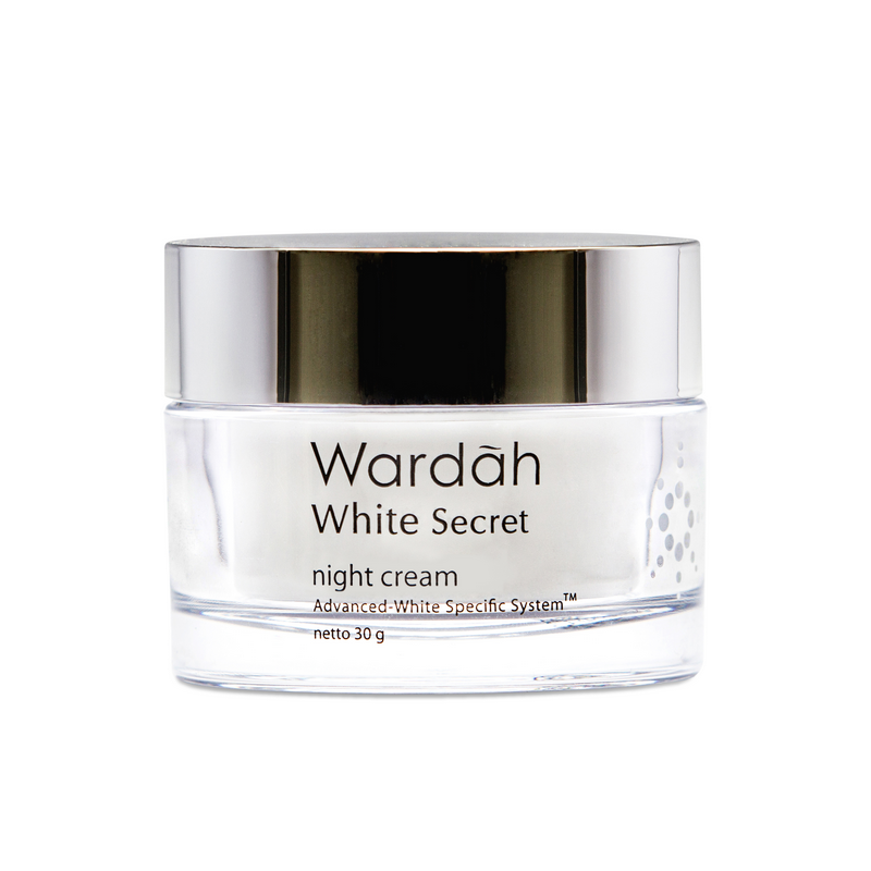 Wardah White Secret Night Cream 30g