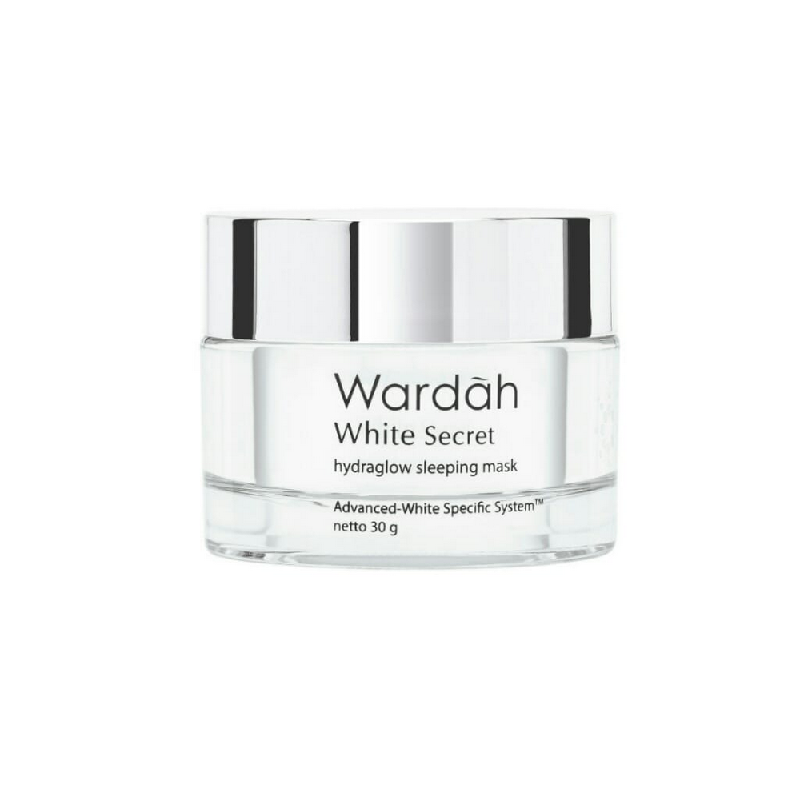 Wardah White Secret HydraGlow Sleeping Mask 30g