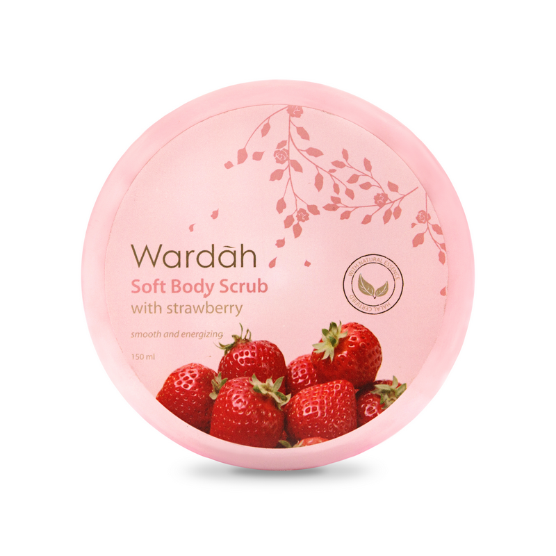Wardah Soft Body Scrub with Strawberry 150ml