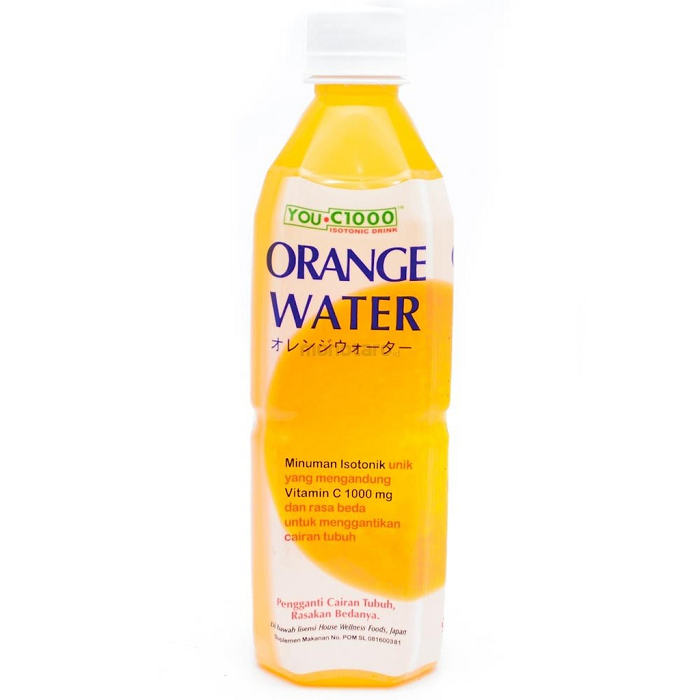 YOU C1000 ORANGE WATER 500ML