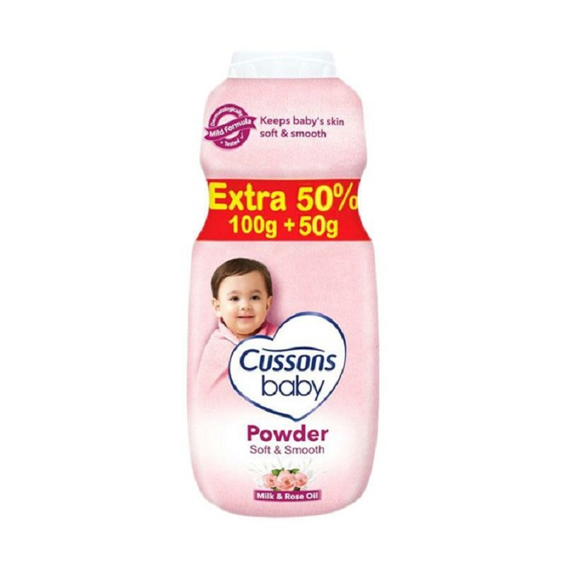 Cussons Baby Powder soft & smooth cussons 100g+50g
