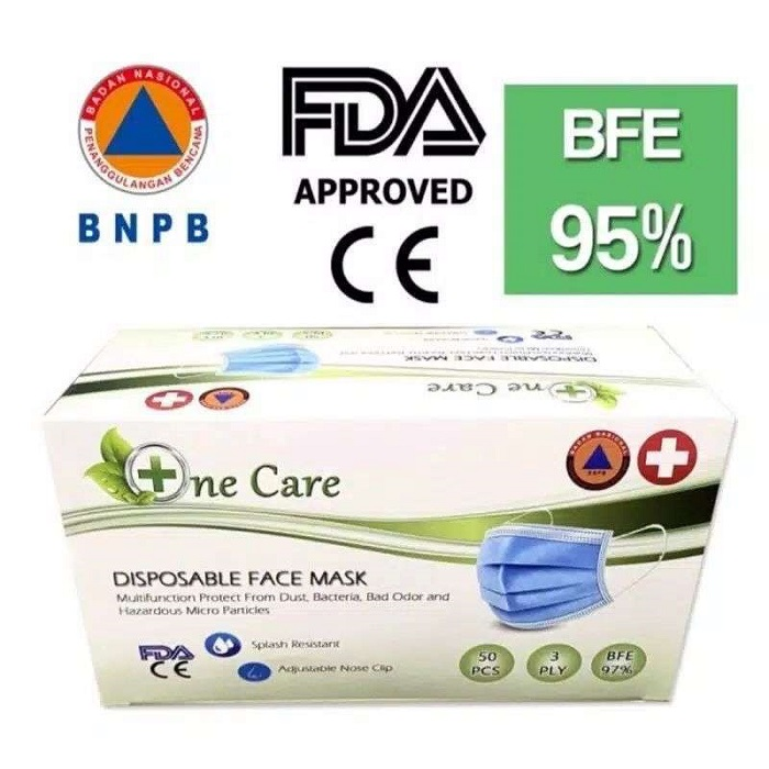 Masker onecare isi 50pc