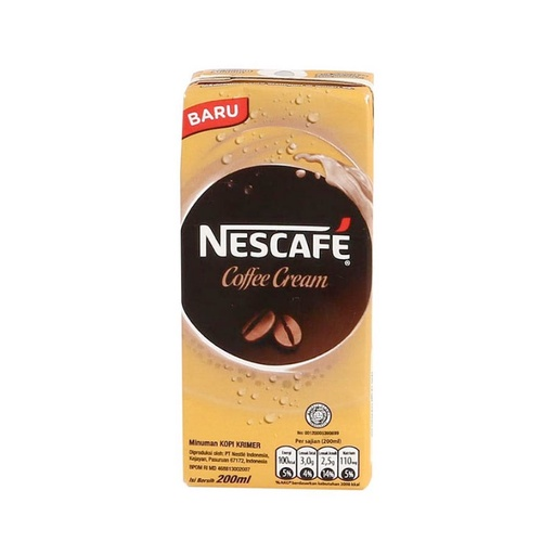 NESCAFE UHT COFFEE CRM 200 ML