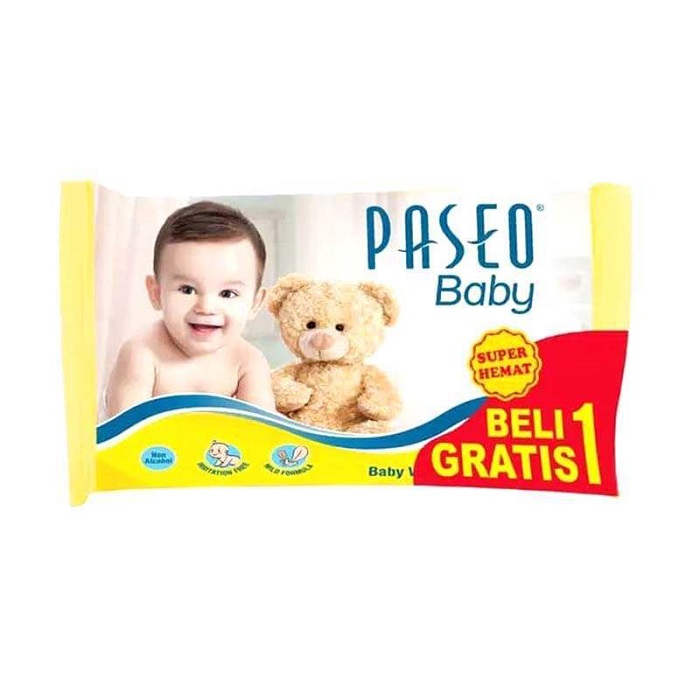 PASEO BABY WIPES PILLOW BAG 2X6X10/'S