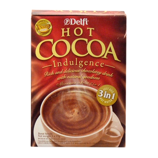 DELFI HOT COCOA BOX 5X25 GR