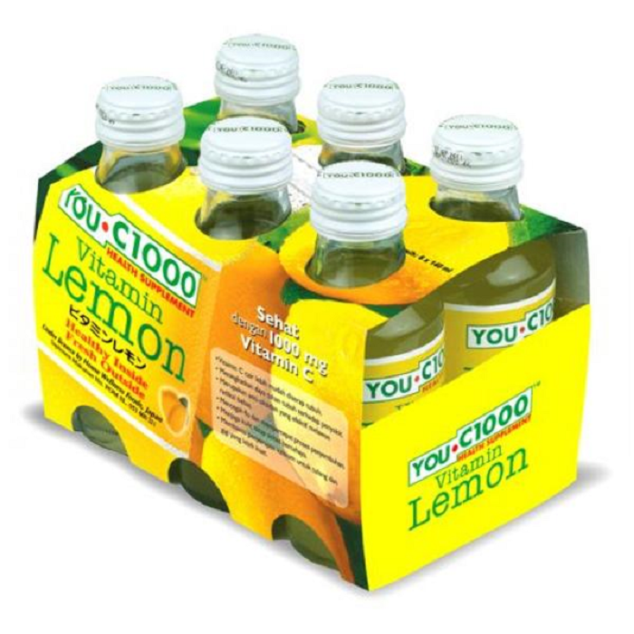 YOU C1000 LEMON 6X140ML