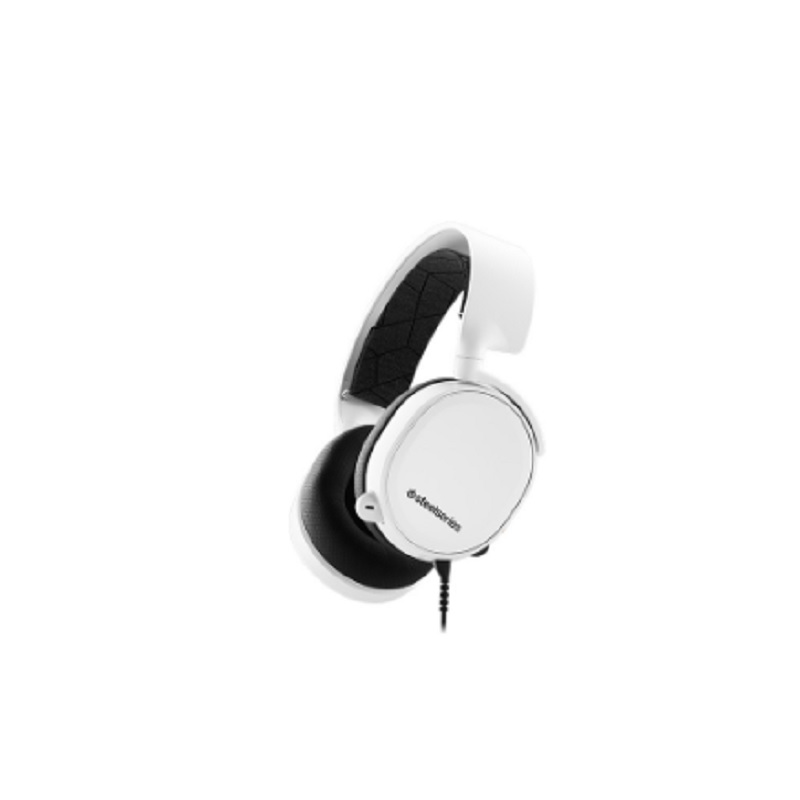 Steelseries Arctis 3 Gaming Headset with 7.1 Surround - Black White