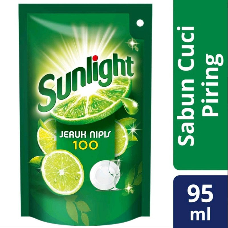 Sunlight Jeruk Nipis Pouch 95ml